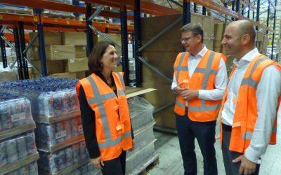 Reorganisation of Leaf's export logistics