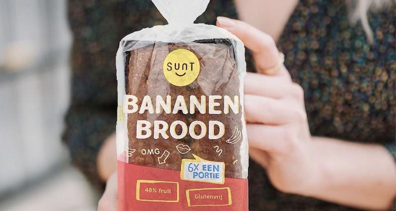 Sunt lanceert bananenbrood bij Rewe Oostenrijk